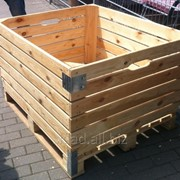 Контейнер для хранения и транспортировки яблок фото