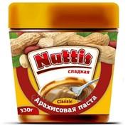 Арахисовая паста NUTTIS Классическая фото