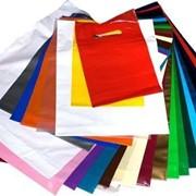 Фирменные пакеты. фото