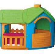 662 Игровой домик с террасой Marian Plast, 165х102х126 см (Израиль) фото