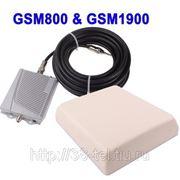 Двухдиапазонный усилитель GSM800 & GSM1900 + внешняя антенна фото