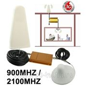 Репитер сигнала 3G 2100 wcdma/900 Mhz на 800 кв.м, бустер, ретранслятор мобильного сигнала фото