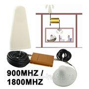 Усилитель сигналов GSM 900 / 1800 MHZ и антенны(внутренняя и внешняя) фото