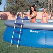Лестница для бассейнов высотой 107см Bestway 58044 фото