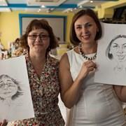 художники -шаржисты на 8 марта фото
