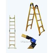 Лестница - трансформер стеклопластиковая диэлектрическая, серия Евро ЛСПТД-2,5 фото