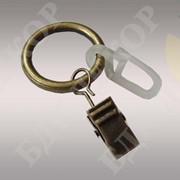 Кольцо с зажимом(крючком) 16 диаметр фото