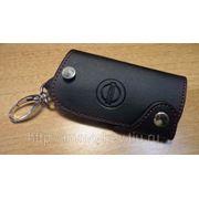 Кожаный чехольчик для ключа NISSAN (lb038) фото