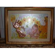Скульптурные копии ручек и ножек малышей фото