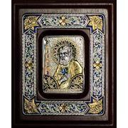 Иконы из серебра и золота на заказ фото