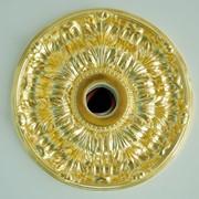 Позолота лепнины, золочение сусальным золотом, поталью фото