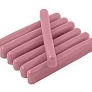 Воск цветной розовый фото