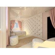 Дизайн спальни г. Туапсе фото