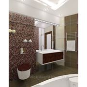 Дизайн ванной комнаты в городе Барнауле фото