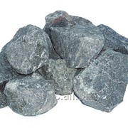 Камни для бани габбро- диабаз 20кг фото