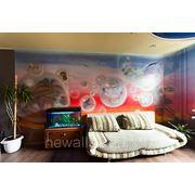 Роспись стен в детской комнате фото