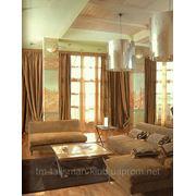 Дизайн интерьера с элементами декоративной росписи стен - Квартира 2 фото