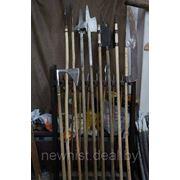 Аренда мечей, копий, топоров фото