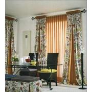 Пошив штор, ламбрекенов, покрывал, чехлов из давальческого сырья фото