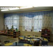 Шторы в игровую комнату детского сада фото