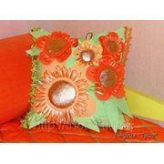 Изготовление декоративных подушек фото