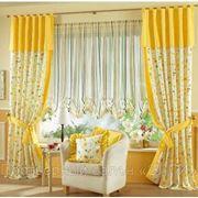 Пошив портьер, штор, домашнего текстиля. Текстильный дизайн фото