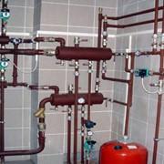 Монтаж систем отопления, системы отопления, системы отопительные, отопление фото