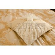 Декоративная подушка с кружевом, под заказ фото