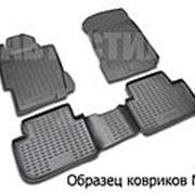 Коврики 3D в салон TOYOTA Corolla, 01/2007-2013 4 шт. (полиуретан) Новлайн фото