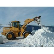 Уборка снега и вывоз фото