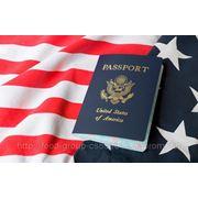 Иммиграционная виза в США. фото
