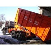Вывоз мусора 27 м. куб. фото