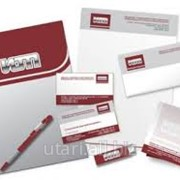 Разработка корпоративного стиля и нанесение логотипа фото