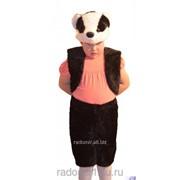Анимационный костюм Барсук С1096 фото