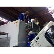 Установка холодильного оборудования(пр-ва Корея) на автомобили. фото