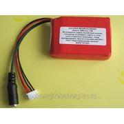 Литиевая аккумуляторная батарея 7,4В 3000мАч фото