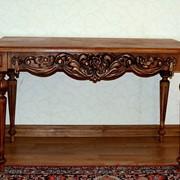 Резной столик фото