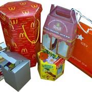Коробки подарочные,картонные,кашированные,с полиграфией фото