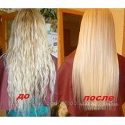 Бразильское выпрямление и лечение волос фото