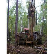 Геология участка, геолого разведка. фото