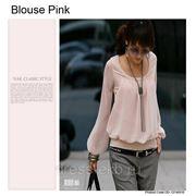 Блузка-Розовый фото