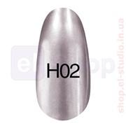 Зеркальный лак Hollywood 8ml H 02 (серый) фото