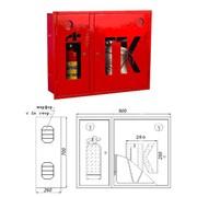 Шкаф пожарный двухстворчатый 700х900мм фото