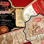 Самоклеящиеся этикетки для колбасных изделий фото