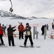 Катание на сноубордах фото