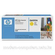 Заправка картриджей HP Q6002A Yellow Print Cartridge for Color LaserJet 1600/2600n/2605, up to 2000 pages. ;   фото