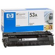 Заправка картриджей HP Q7553A (№53A), принтеров HP LaserJet P2014/ P2015/ P2015d/ P2015dn/ P2015n/ P2015x фото