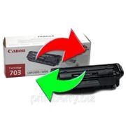 Обмен лазерного картриджа Canon 703 фото