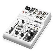 Yamaha AG03 микшер со встроенной звуковой картой (USB-аудиоинтерфейс) фото