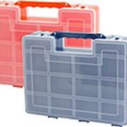 Органайзер для инструментов двойной 270х220х110мм Базовый 270x110x220 8шт./уп. фото